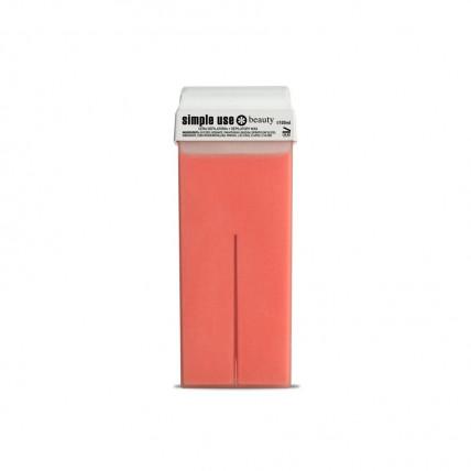 Воск для депиляции теплый в картриджах 100 мл Розовый