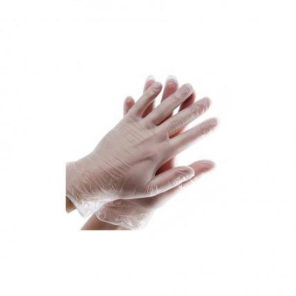 Виниловые перчатки S/M