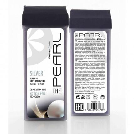 Полимерный теплый воск для депиляции в картридже Pearl Silver 100 мл.